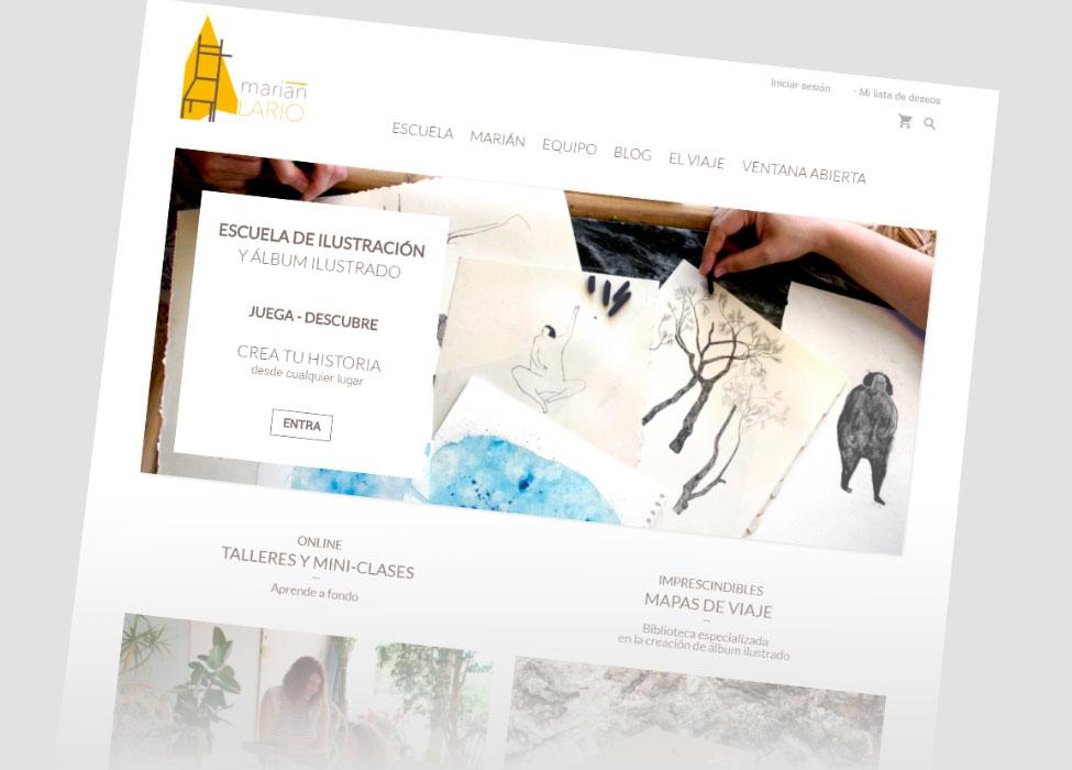 Plataforma Online – Diseño y desarrollo web